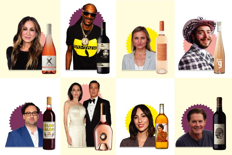 The Ultimate Guide to Celebrity Wines, from SJP to Post Malone