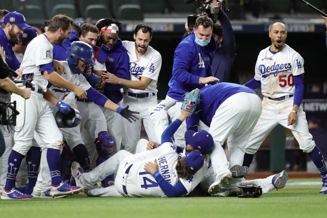 dodgers world series win