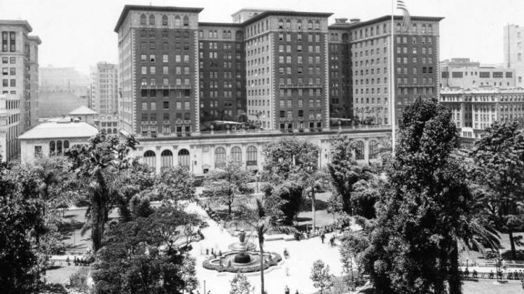 biltmore hotel los angeles haunted