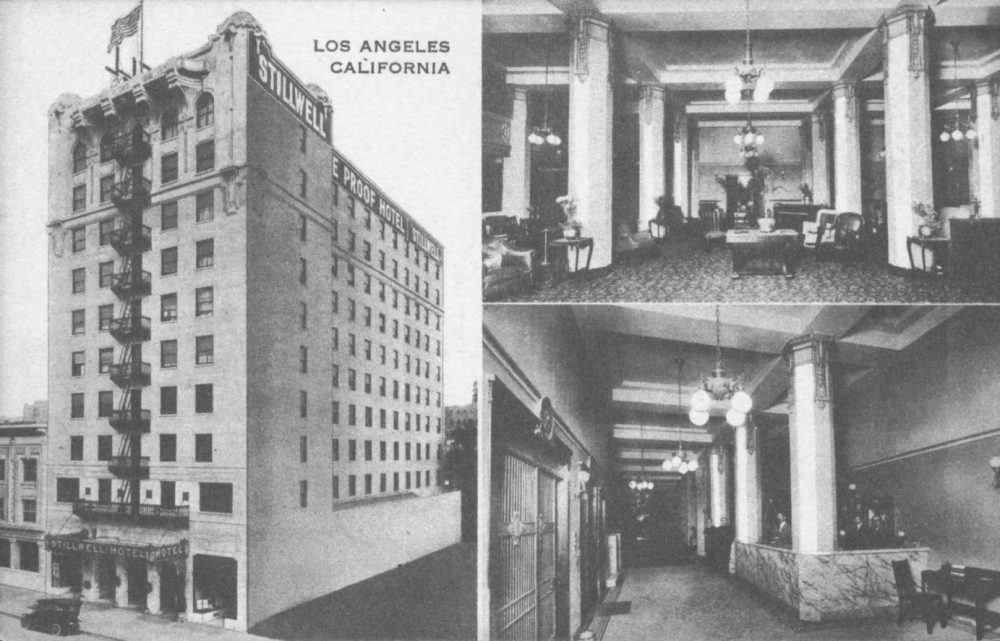stillwell hotel haunted los angeles