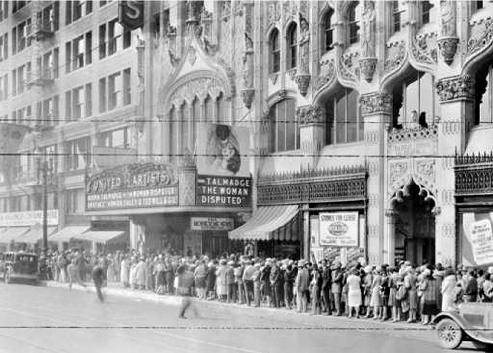 united artists theater ace hotel haunted los angeles