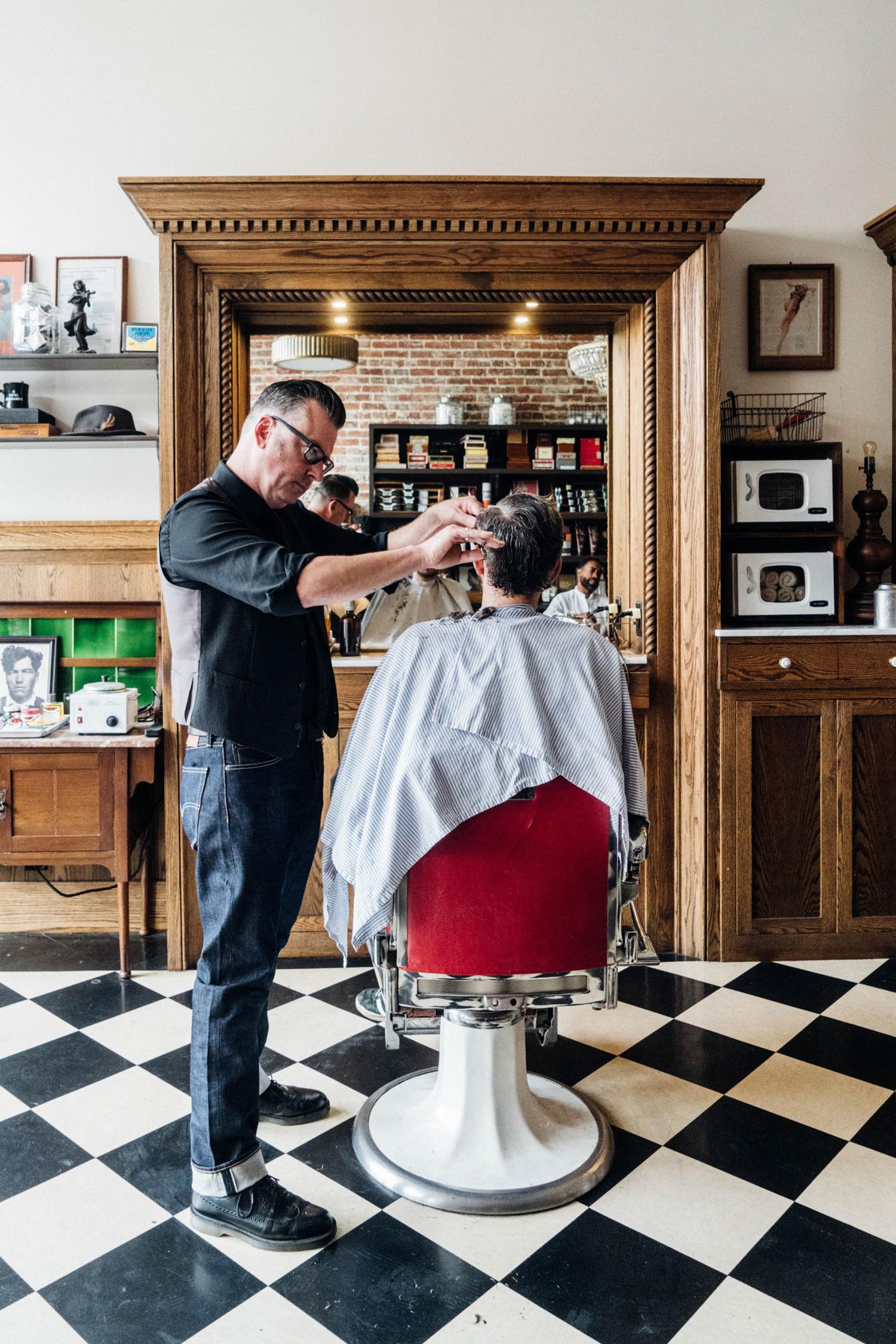 barbershop club