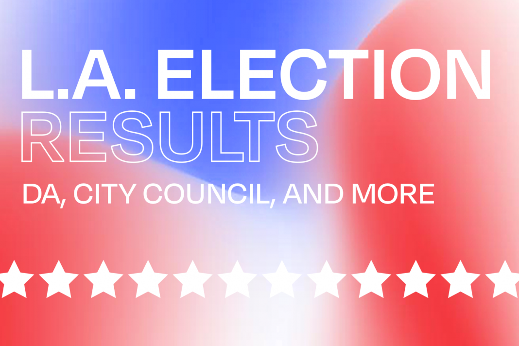 2020 election results los angeles