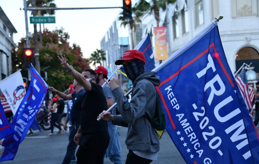 trump protests election
