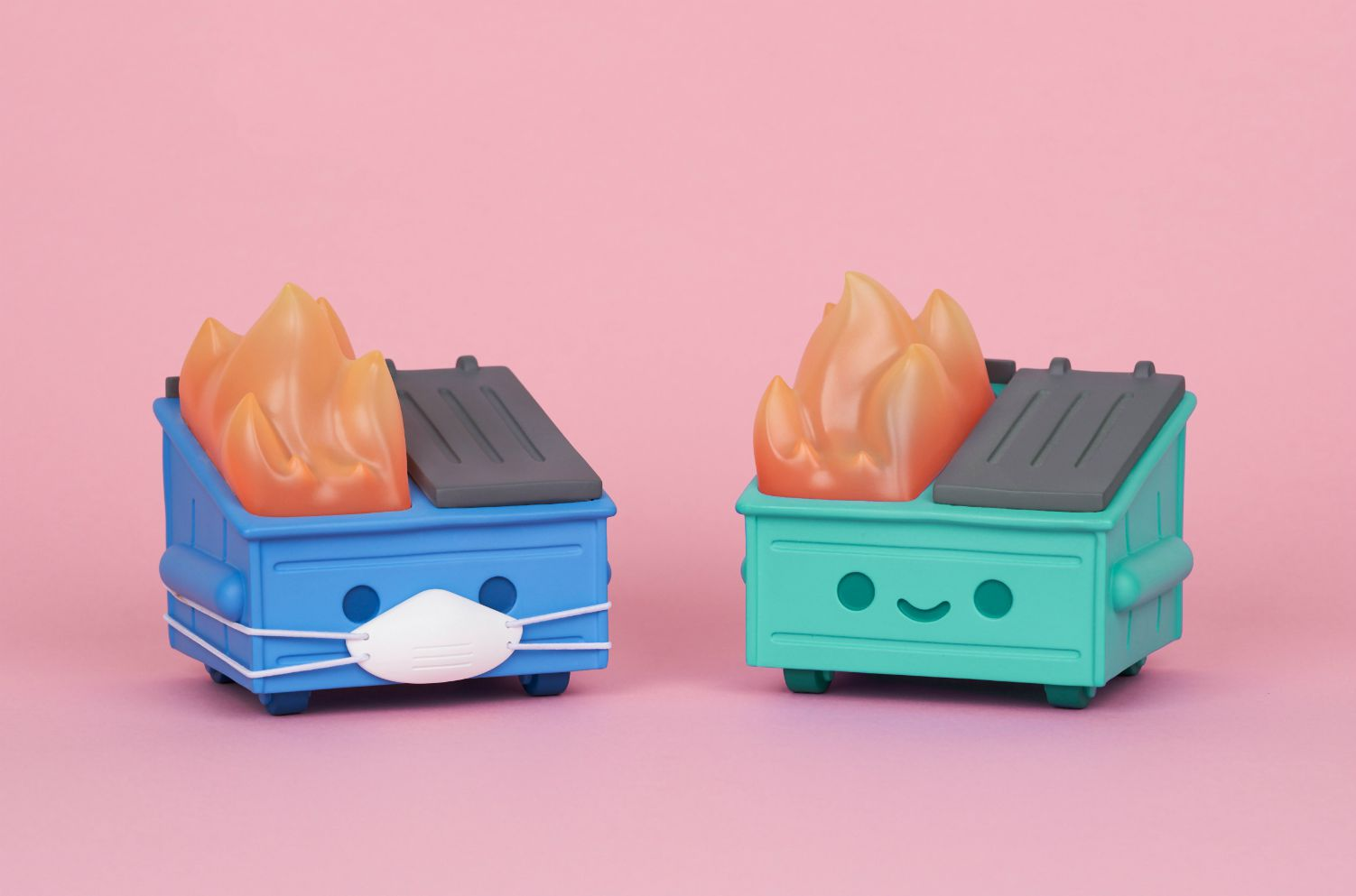 dumpster fire toy