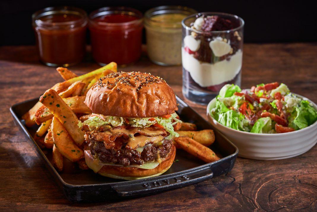 super bowl delivery burger
