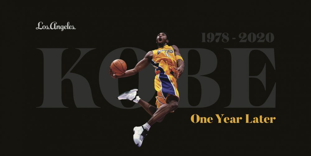 kobe one year later