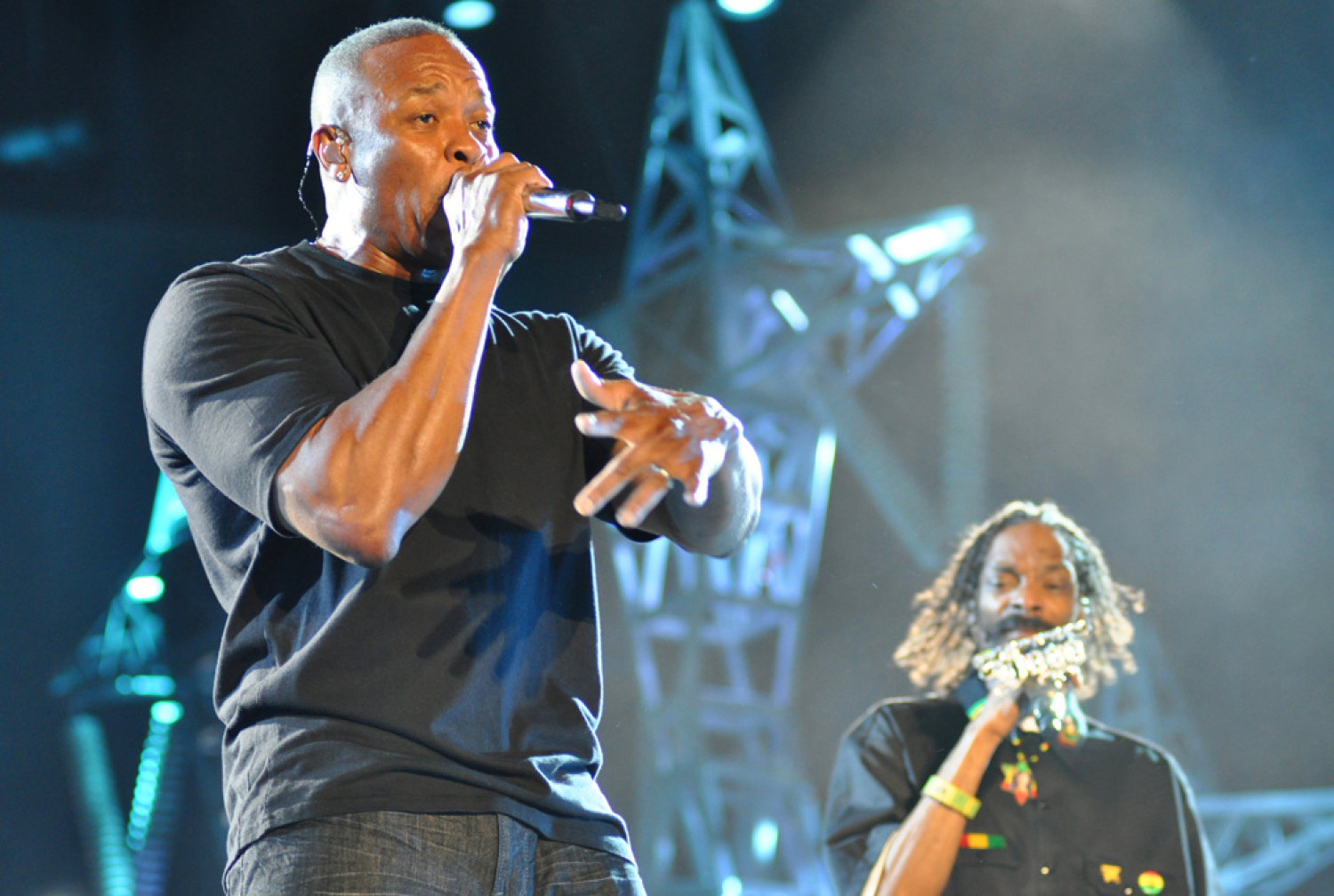 Four Arrested After American music mogul Dr Dre's home burgled while he's hospitalized