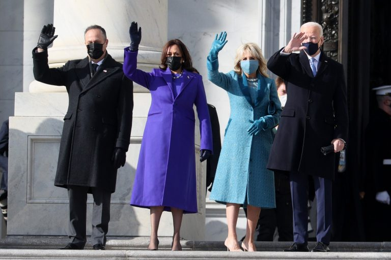 From Gaga's Gown to V.P. Kamala's Coat, the Inauguration Was a Feast for the Eyes