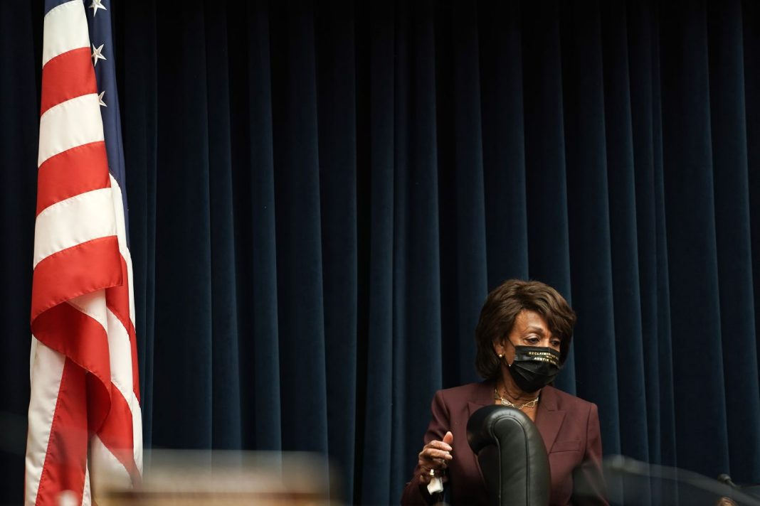 maxine waters interview