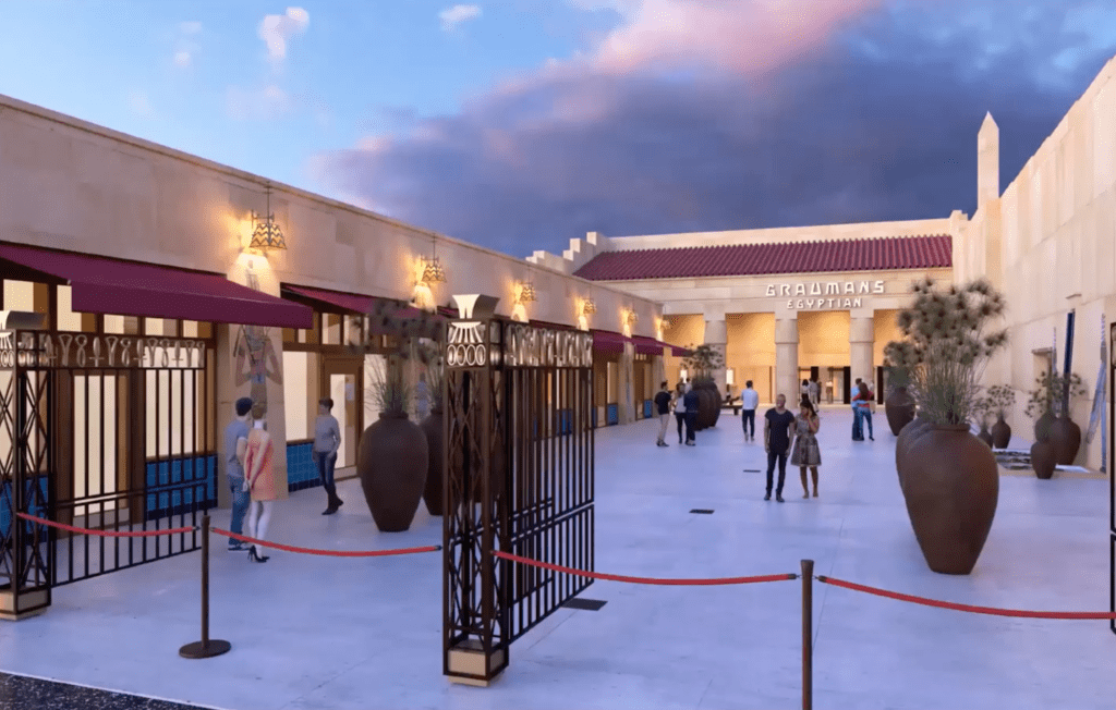netflix egyptian theater remodel