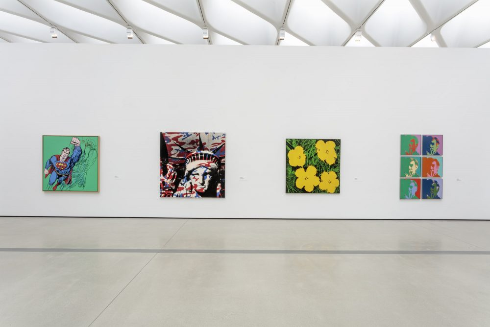the broad reopening andy warhol