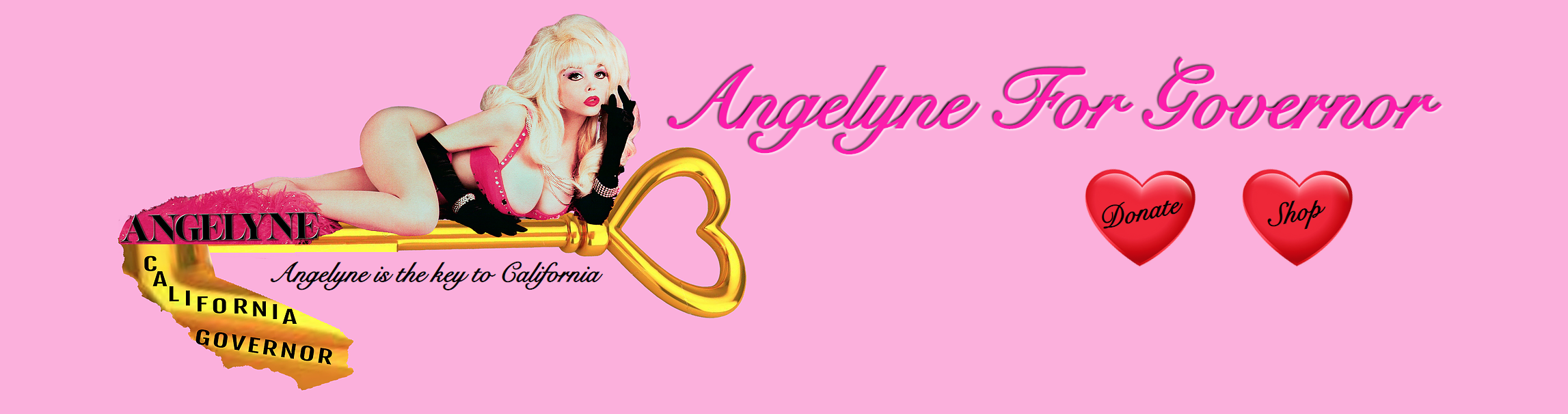 angelyne for governor