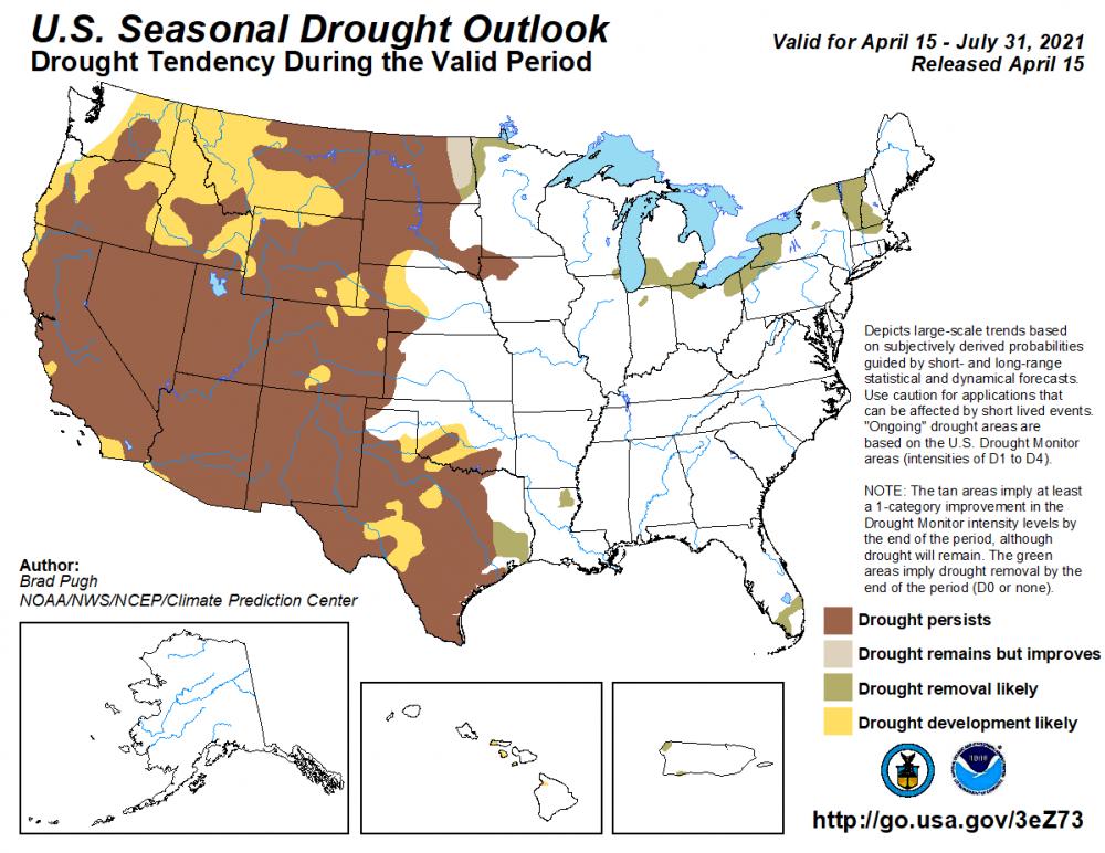 drought conditions california