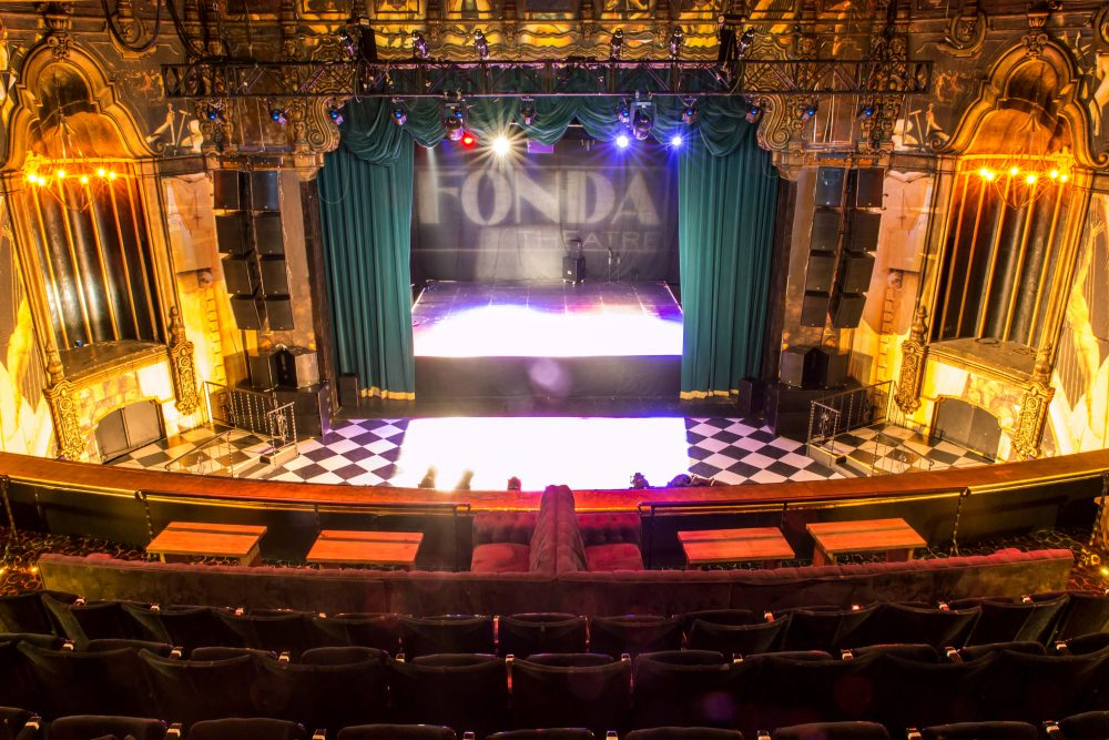 fonda theatre concert venue