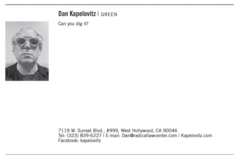 Recall candidate Dan Kapelovitz