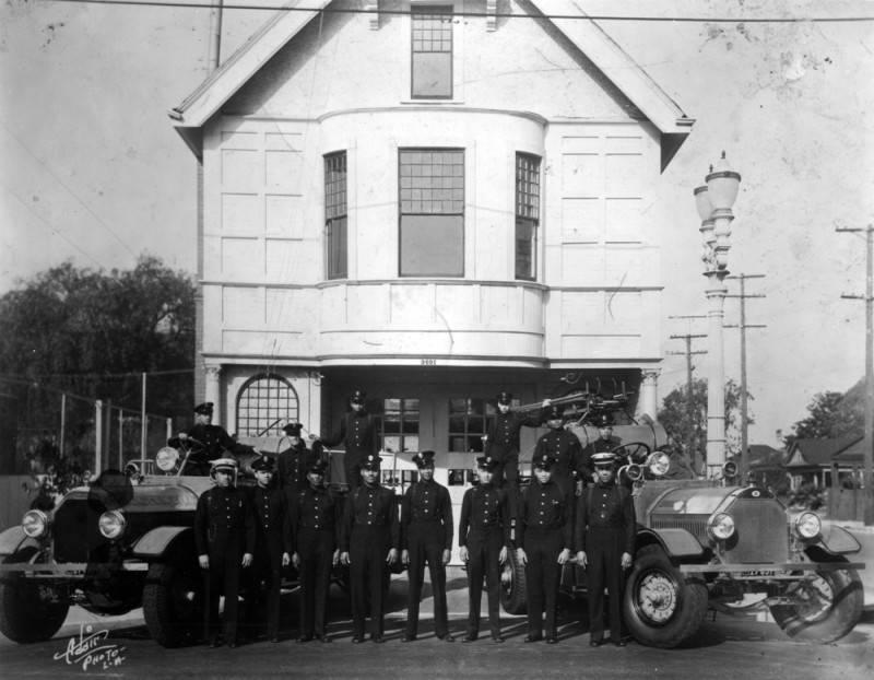 black firefighters