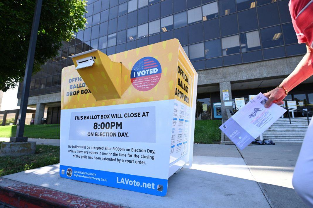 ballot box voting los angeles