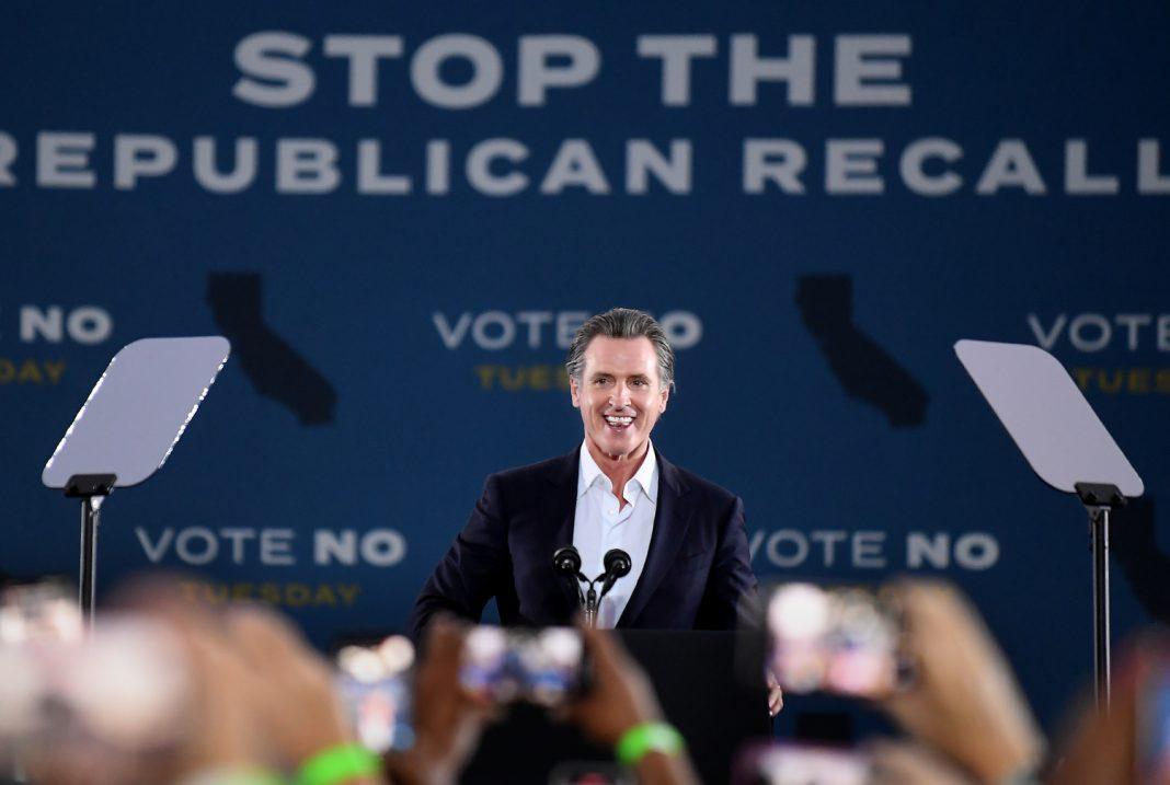 california recall gavin newsom