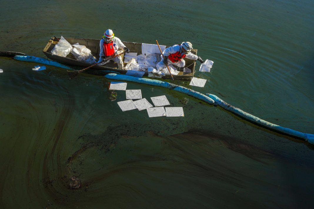oil spill orange county